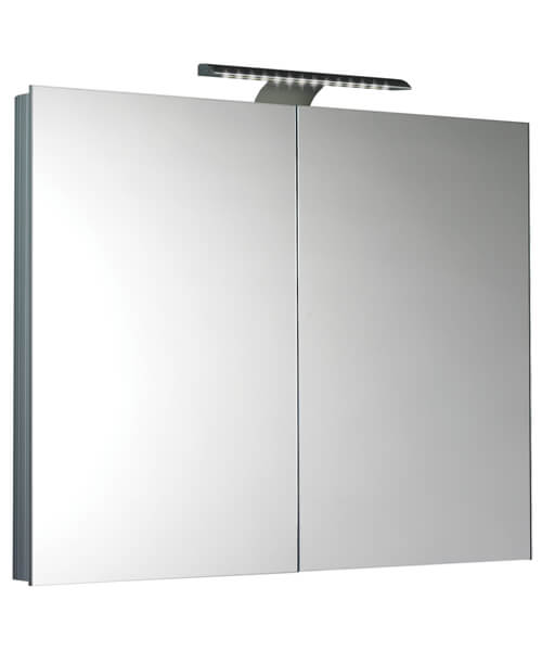 Saneux Ice 900mm Mirror Cabinet With LED Light