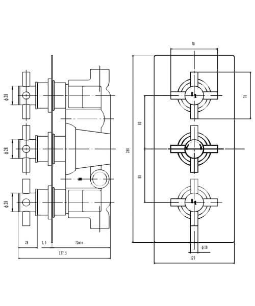Technical drawing 16106 / KRI3211