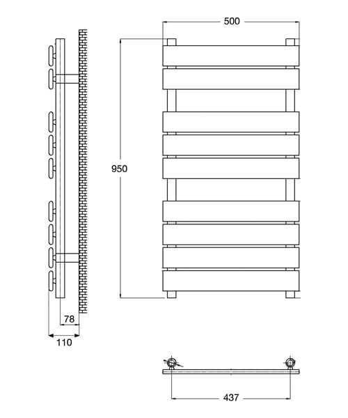 Technical drawing 6712 / HL382
