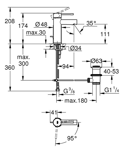 Technical drawing 44869 / 23379001