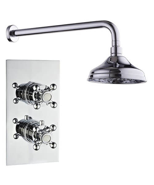 Mayfair Oxford Concealed Thermostatic Shower Valve With Shower Head ...