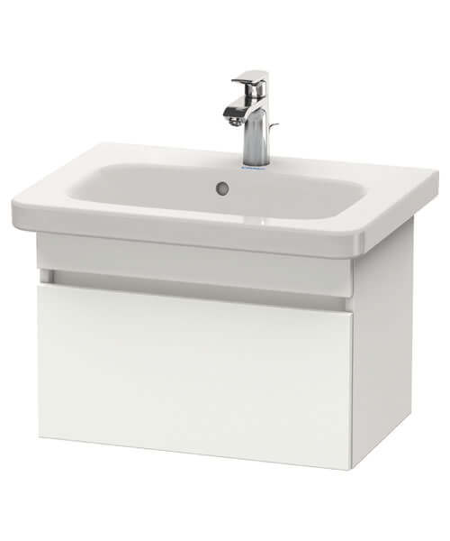 Duravit DuraStyle 580 x 368mm Pull Out Compartment Unit With 635mm Basin