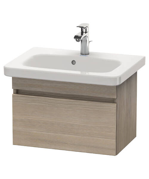 Additional image of Duravit DuraStyle 580 x 368mm Pull Out Compartment Unit With 635mm Basin
