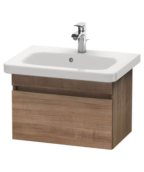 Alternate image of Duravit DuraStyle 580 x 368mm Pull Out Compartment Unit With 635mm Basin