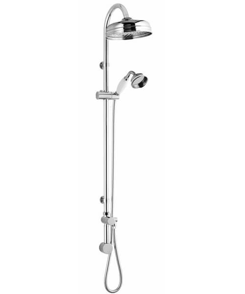 Nuie Premier Traditional Rigid Riser Kit With Head And Handset