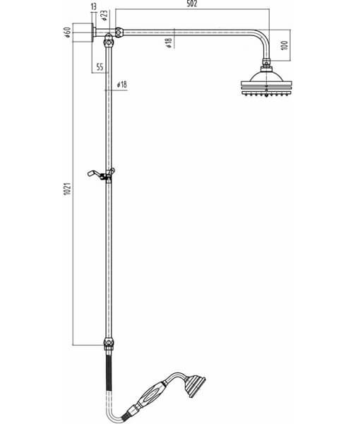 Technical drawing 55067 / A3606
