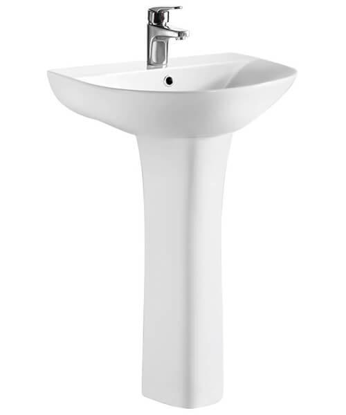 Nuie Premier Freya Basin And Full Pedestal 550mm Wide