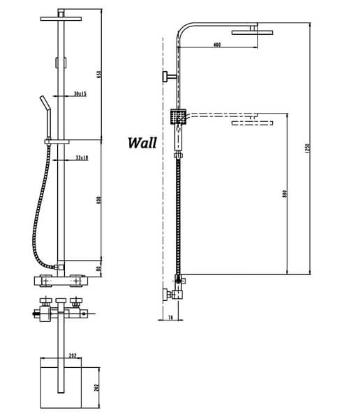 Technical drawing 58131 / A3559