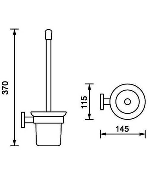 Technical drawing 54124 / PA310