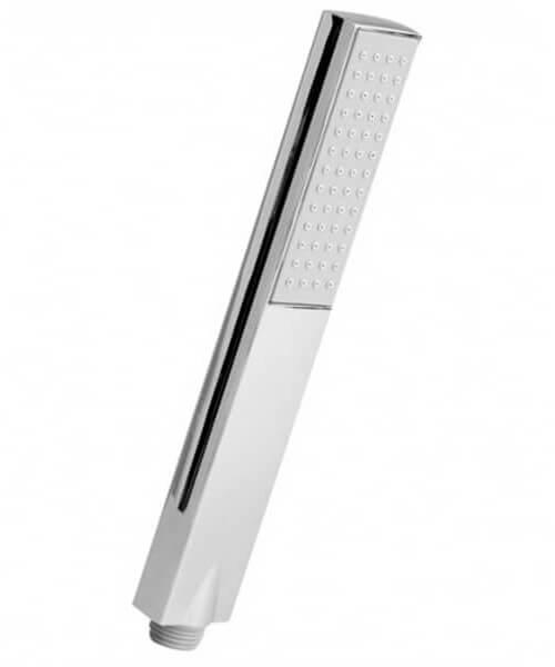 Nuie Premier Easy-Clean Rectangular Shower Handset