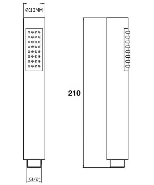 Technical drawing 58144 / HO307