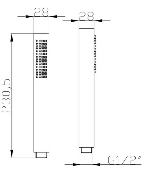 Technical drawing 58146 / HO310
