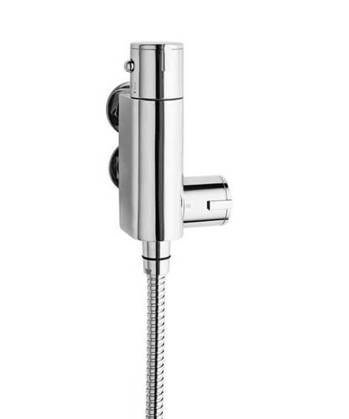 Nuie Premier Vertical Thermostatic Bar Shower Valve