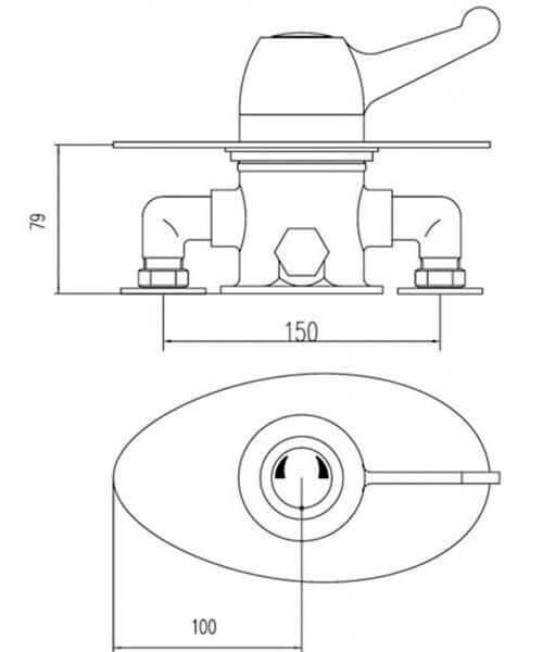 Technical drawing 58158 / VSQ4