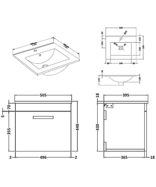 Technical drawing 55092 / ATH013B