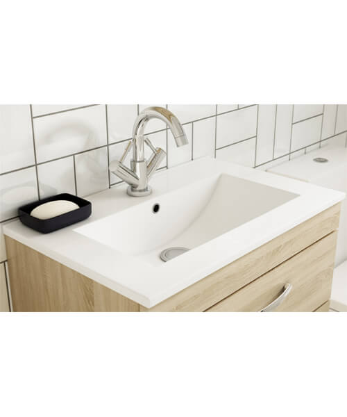 Alternate image of Nuie Premier Athena 500mm Wide 1 Drawer Unit With Basin 2