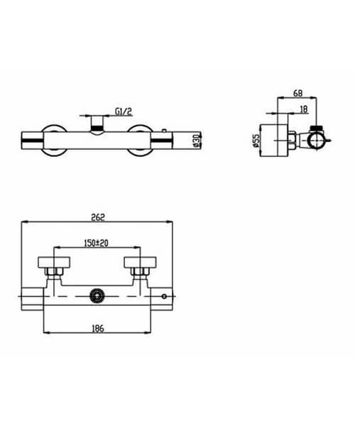 Technical drawing 58151 / VBS014