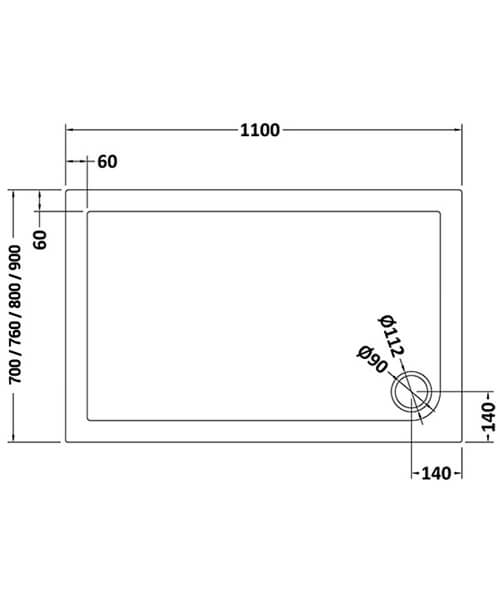 Technical drawing 8869 / BEO-2130