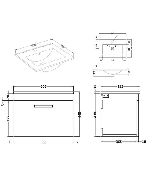 Technical drawing 55100 / ATH036B