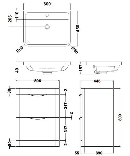 Technical drawing 17428 / FPA001