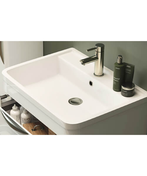 Additional image of Lauren Parade 600mm 2 Drawer Floor Standing Cabinet And Basin