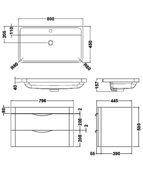 Technical drawing 17431 / FPA005