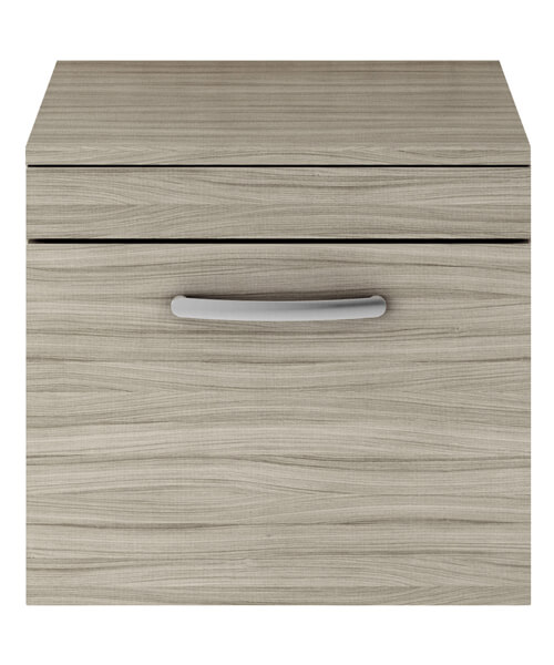 Additional image of Nuie Premier Athena 50cm Single Drawer Wall Hung Unit With Worktop
