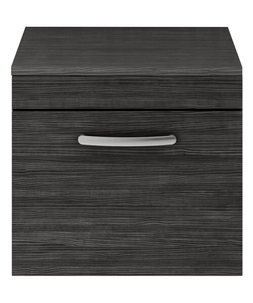 Alternate image of Nuie Premier Athena 50cm Single Drawer Wall Hung Unit With Worktop