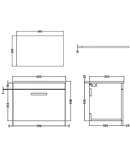 Technical drawing 55108 / ATH036W