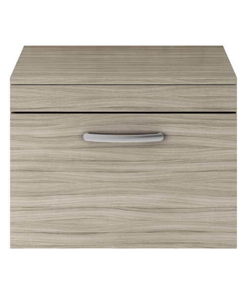 Additional image of Nuie Premier Athena 600mm Wide Single Drawer Wall Hung Cabinet With Worktop