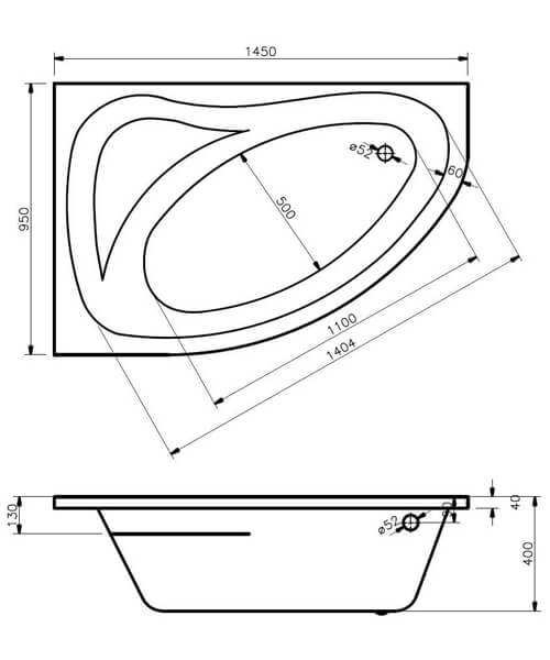 Technical drawing 59005 / PCB001