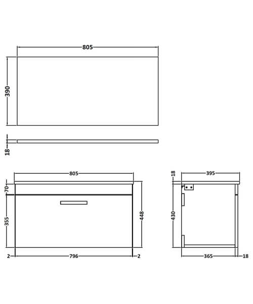 Technical drawing 55111 / ATH062W