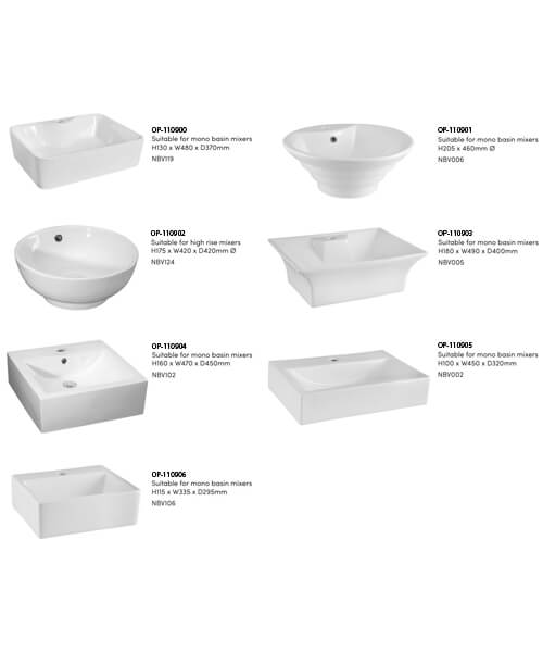 Alternate image of Nuie Premier Athena 800mm 1 Drawer Wall Mounted Worktop With Unit