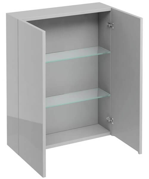 Additional image of Britton 600mm Double Door Wall Hung Cabinet
