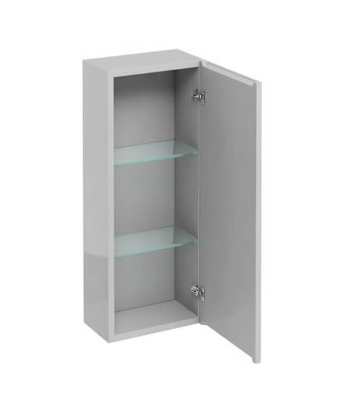 Additional image of Britton 300mm Single Mirrored Door Wall Hung Cabinet