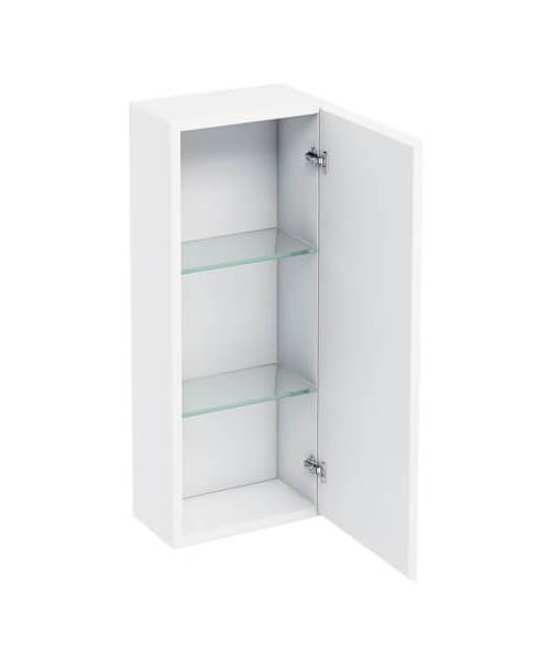 Britton 300mm Single Mirrored Door Wall Hung Cabinet