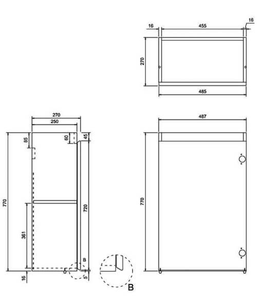 Technical drawing 29994 / AR40W