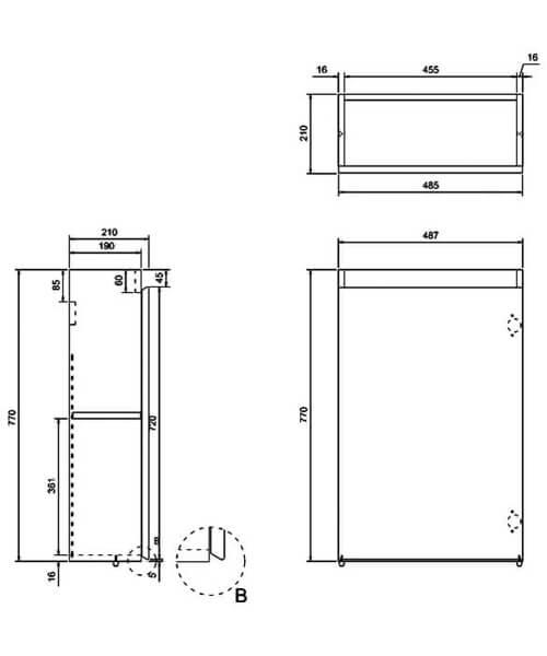 Technical drawing 29979 / AR20W