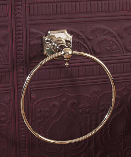 Alternate image of Silverdale Victorian Towel Ring Chrome
