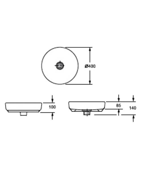 Technical drawing 55121 / LW1818