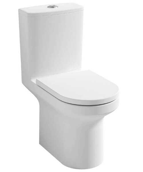 Pura Alma Close Coupled WC Pan With Cistern 650mm