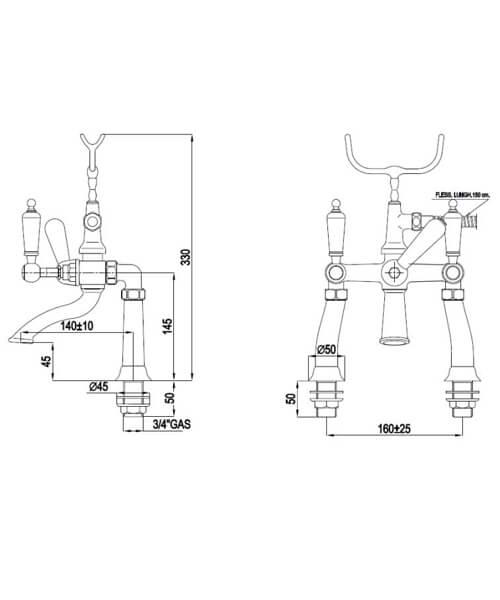 Technical drawing 32784 / BYTBTBSMCHR