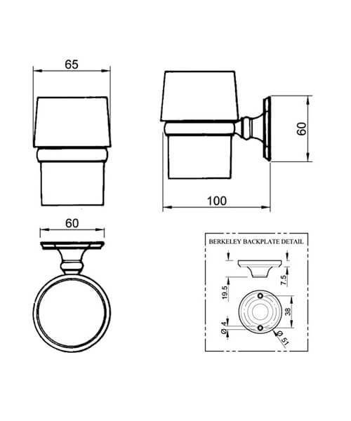Technical drawing 32777 / BKSTHMETCHR