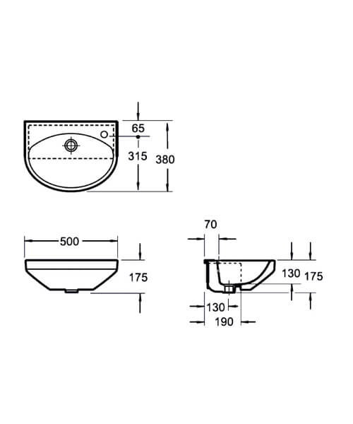 Technical drawing 55125 / LS10156B