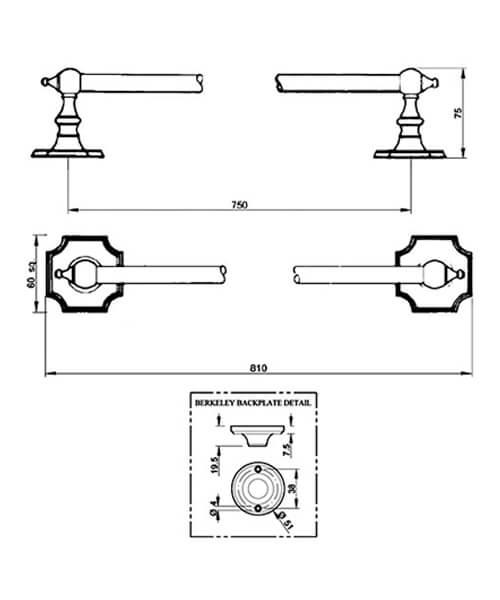 Technical drawing 32781 / BKTWRMETCHR