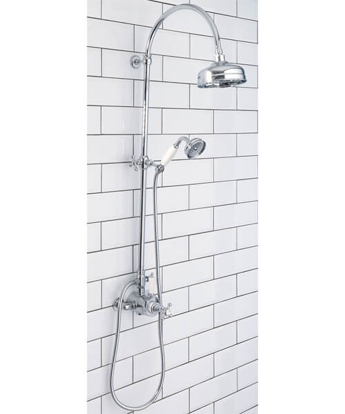 Silverdale Exposed Shower Set Chrome