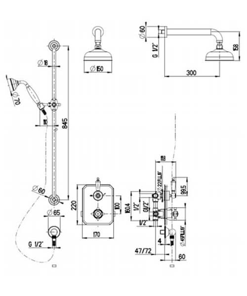 Technical drawing 32796 / SILCON100
