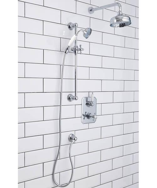 Silverdale Concealed Shower Set Chrome