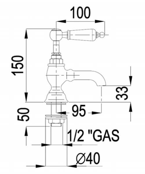 Technical drawing 32786 / BYTBSPILCHR