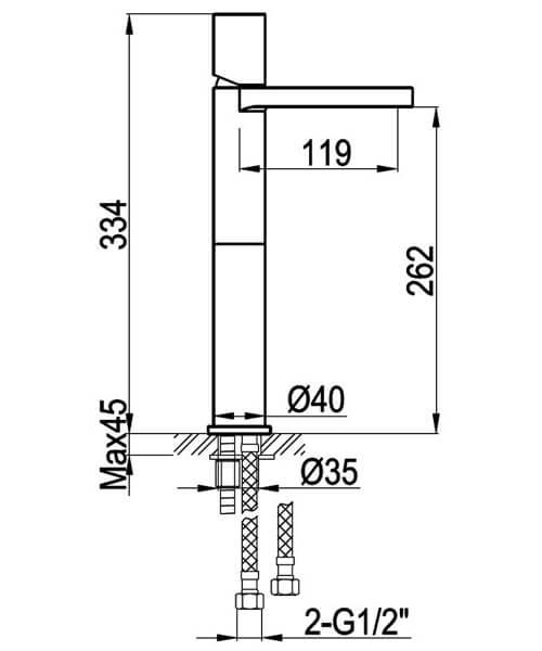 Technical drawing 34787 / NI104